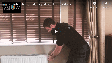 How to bleed a radiator after a new boiler installation - Bridgwater - Taunton