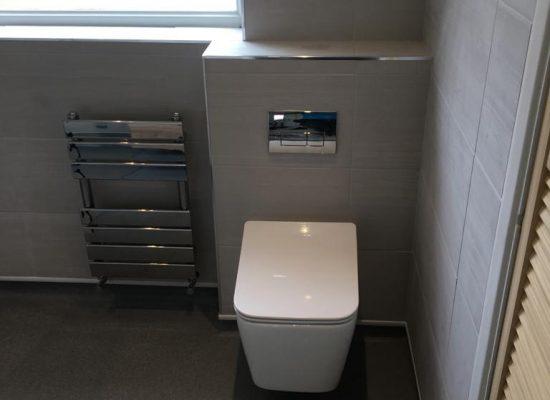 Bathroom installers Bridgwater - wall hung toilet