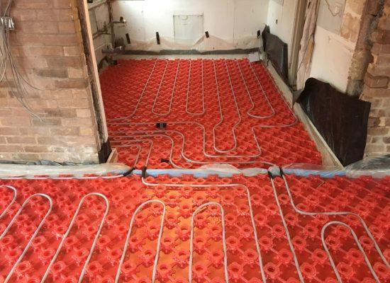 poly plumb underfloor heating installation - Bridgwater - Taunton